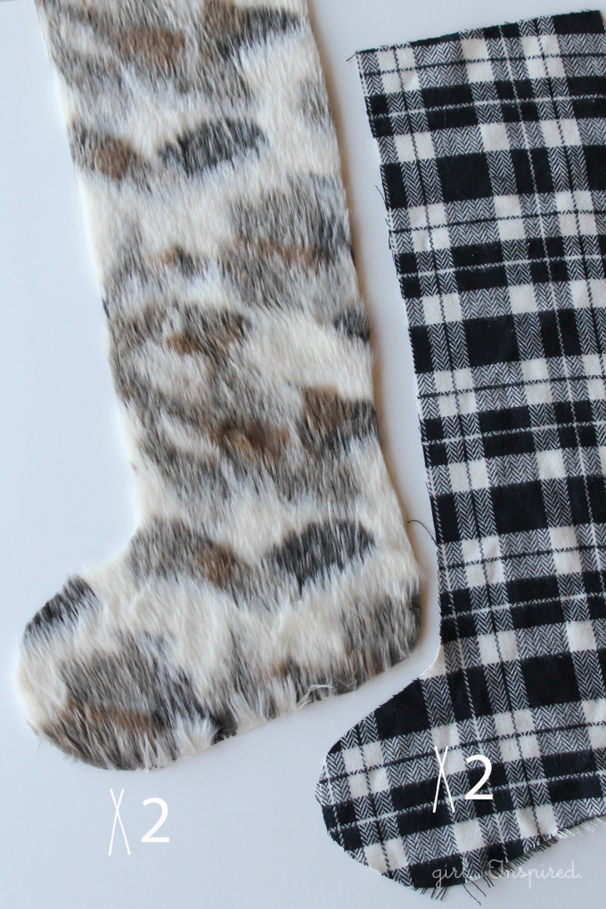 Fur and Flannel Stocking