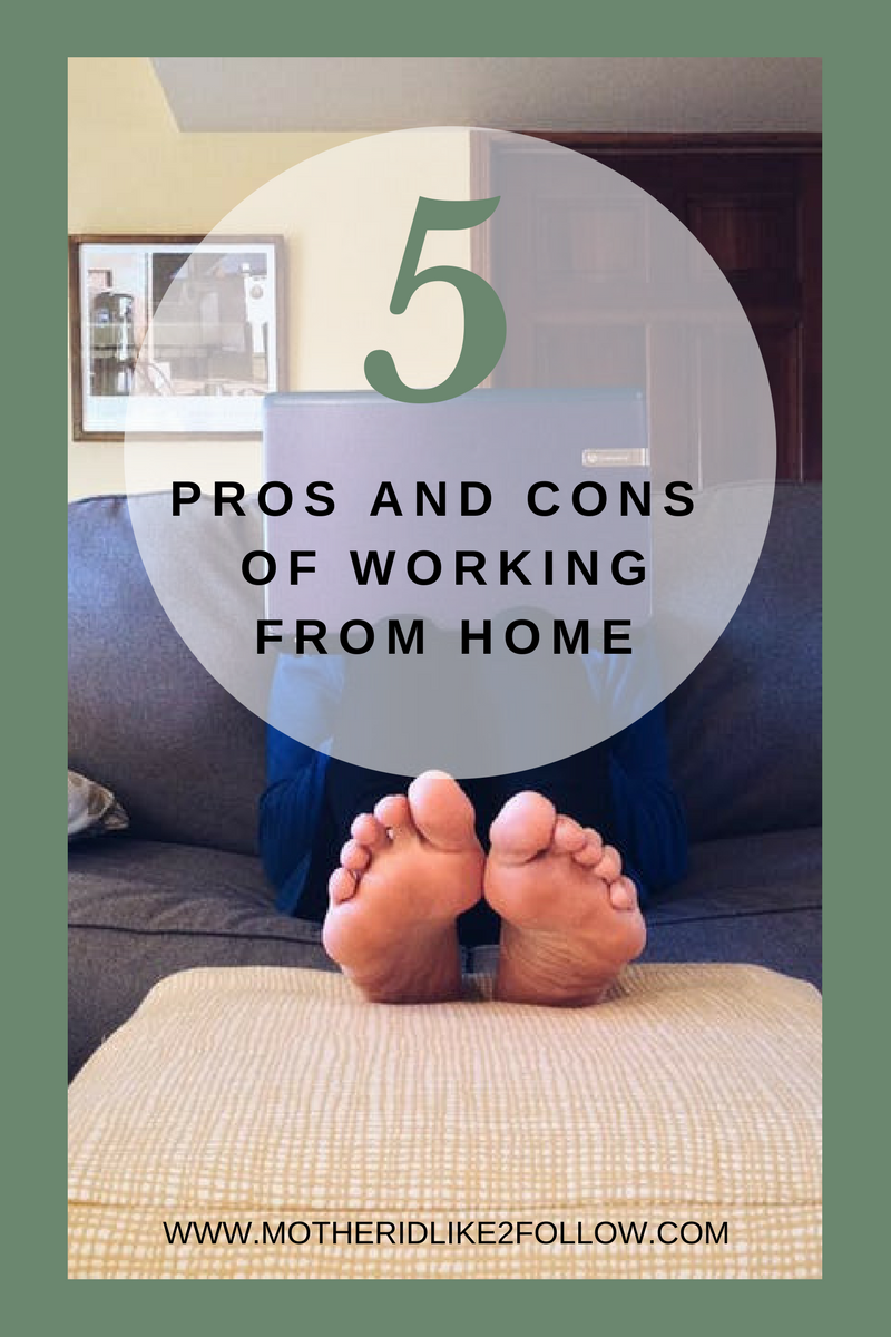 5 Pros And Cons Of Working From Home