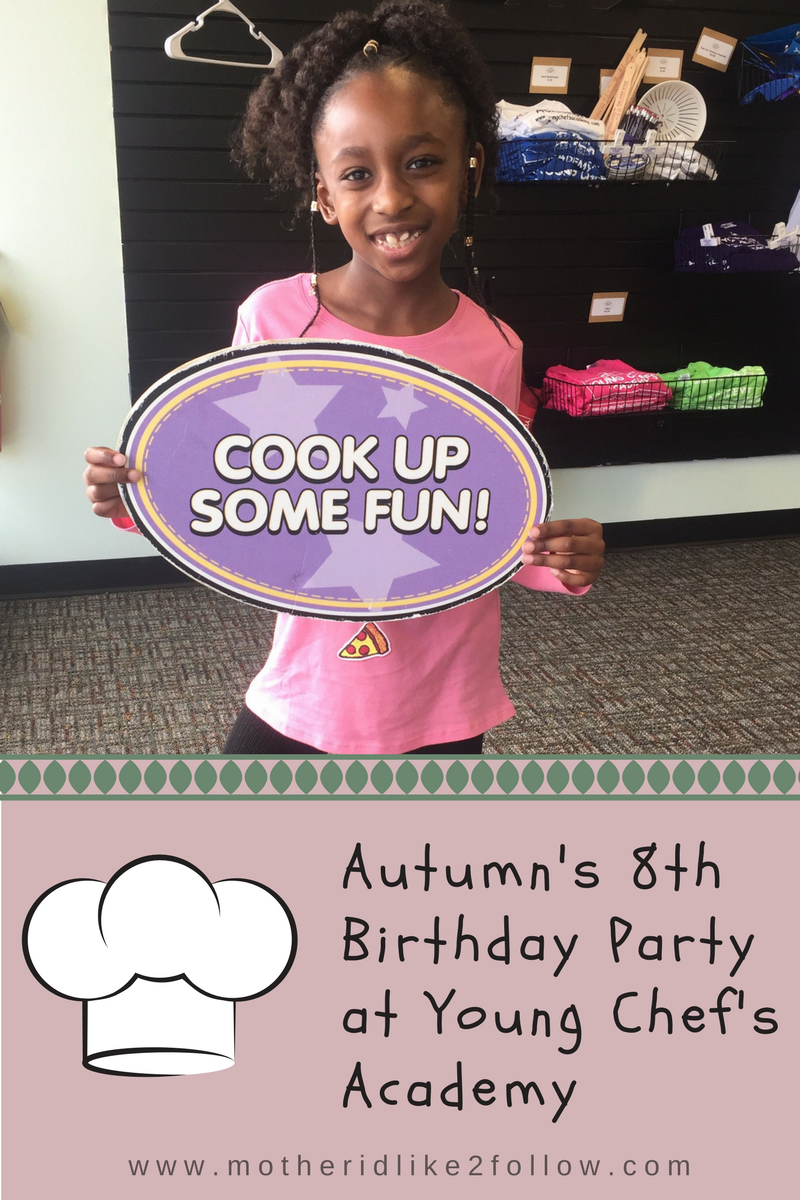 Cook Up Some Fun: Autumn's 8th Birthday Party At Young Chef's Academy