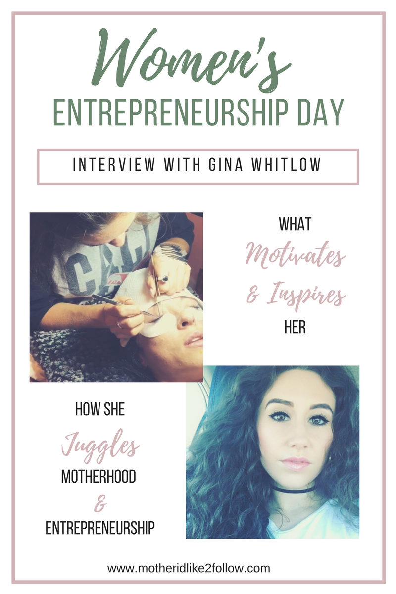Women's Entrepreneurship Day: Interview with Gina Whitlow