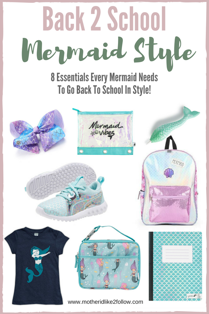 Back To School: Mermaid Style
