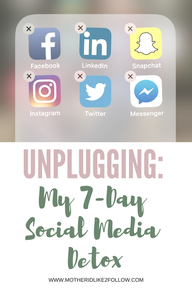 Unplugging: My 7-Day Social Media Detox